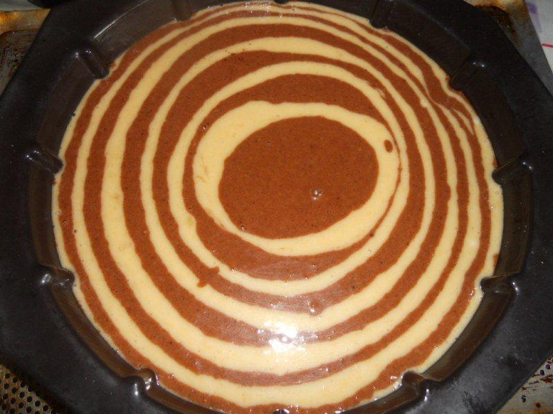 Gateau Yaourt Marbre Banane Chocolat L Horizon Lointain La Reunion