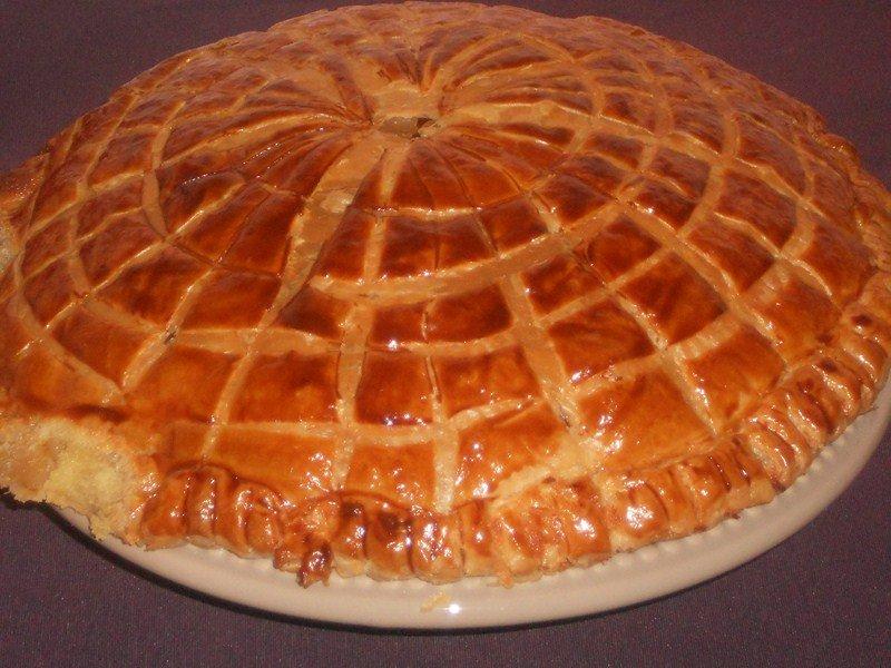 Galette des rois à la frangipane dans tartes ,desserts (36) DSCN8753-Copier