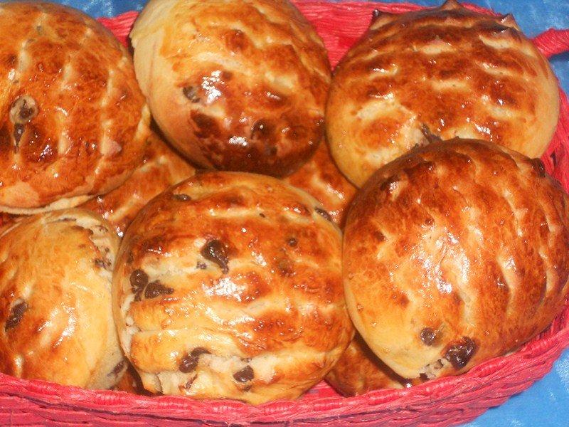 Petits pain au lait et pépites de chocolat dans viennoiseries,brioches (20) DSCN8901-Copier