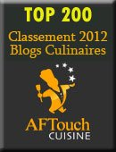 Classement des blogs sur Aftouch cuisine dans articles (29) top200aftouch