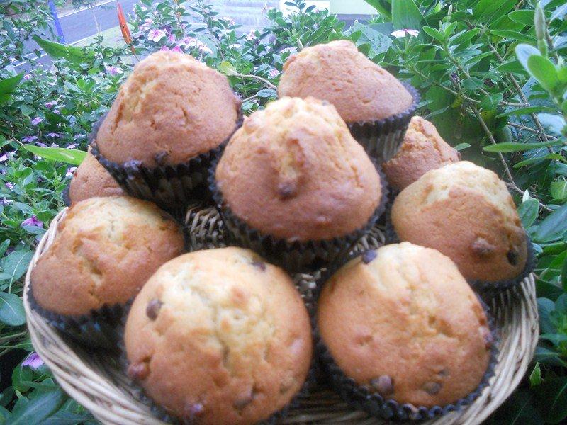 Muffins aux deux chocolats dans goûters, biscuits (59) DSCN9227-Copier