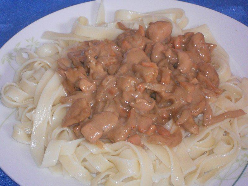 blancs de poulet au vinaigre balsamique et au miel dans viandes,abats (46) DSCN9552-Copier