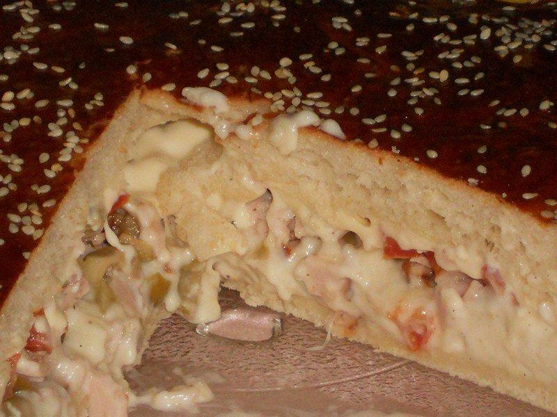 Tourte burger jambon, olive et tomate dans pizza,quiches,hamburgers(57) DSCN0249-Copier