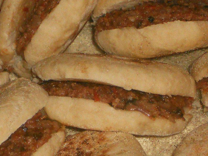 Batbous farci au boeuf haché dans pizza,quiches,hamburgers(57) DSCN0588-Copier