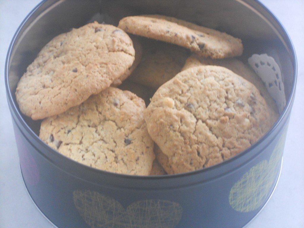 Cookies dans leur jolie boite